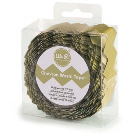 Scotch décoratif 'We R Memory Keepers' Chevron Or