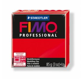 Fimo 'Professional' 85 g - Rouge
