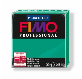 Fimo 'Professional' 85 g - Vert pur