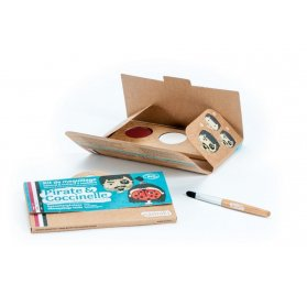 Kit maquillage 'Namaki' 3 couleurs Pirate & Coccinelle