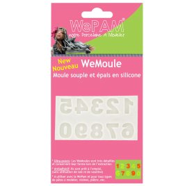 Moule en silicone 'WePAM' Chiffres