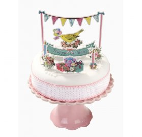 Kit de décoration pour gâteau 'Talking Tables' Frills & Frosting Pop Tops