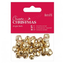 Grelots 'Docrafts - Create Christmas' Or Qté 30