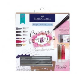 Kit ' Faber-Castell' Calligraphie Créative