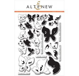 Tampons transparents 'Altenew' Painted Butterflies