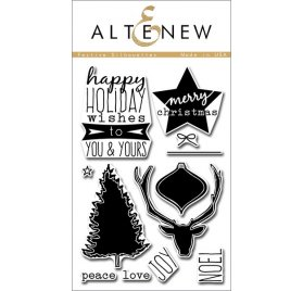 Tampons transparents 'Altenew' Festive Silhouettes