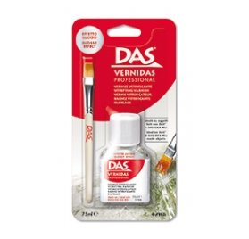 Kit vernis vitrificateur et pinceau 'Das Idea Mix' Brillant transparent 75 ml
