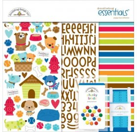 Kit 30x30 'Doodlebug - Puppy Love' Essentials