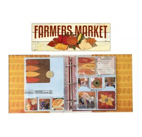 Kit scrapbooking 30x30 'BoBunny - Farmers Market' Project Life