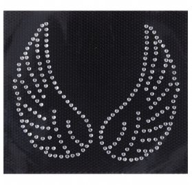 Ecussons thermocollants Strass 'Rico Design - Made by Me' Ailes