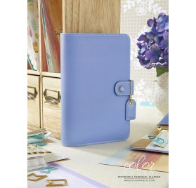 Organiseur Complet Personal Planner 'Webster's Pages - Color Crush' Bleu Pervenche