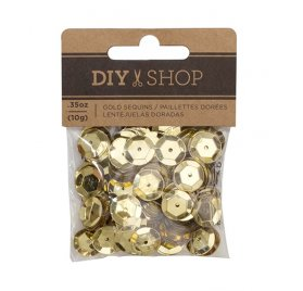 Sequins 'American Crafts - DIY Shop 4' Or 10 g