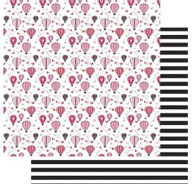 Papier double 30x30 'Fancy Pants - Sweet Nothings' Love is in the Air