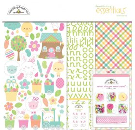 Kit 30x30 'Doodlebug - Easter Express' Essentials