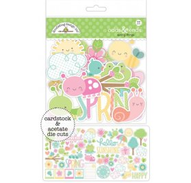 Die-cuts 'Doodlebug -  Spring things' Qté 77
