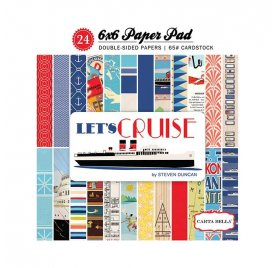 Assortiment 15X15 'Carta Bella - Let's Cruise' Paper pad