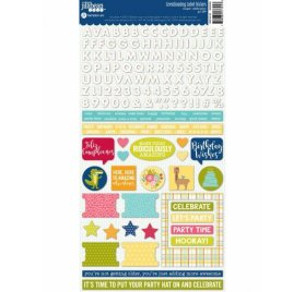 Autocollants 'Jillibean Soup - Souper Celebration' Coordinating Label Stickers Qté 166