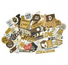 Die-cuts 'Kaisercraft' - Pawfect' Dog