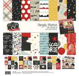 Assortiment 30x30 'Simple Stories - Say Cheese III' Collection Kit