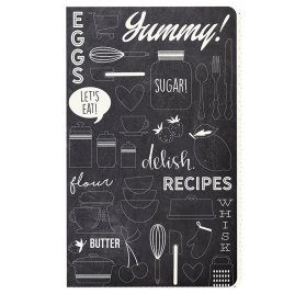 Carnet 21x12.5 cm 'Simple Stories - Carpe Diem Planner' Doc-It Journal Delish 24 Pages