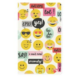 Carnet 21x12.5 cm 'Simple Stories - Carpe Diem Planner' Doc-It Journal Emoji Love 24 Pages