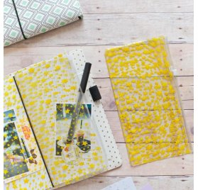 Couverture pour carnet 'Freckled Fawn' Yellow Star