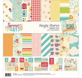Assortiment 30x30 'Simple Stories - Summer Days'