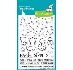 Tampons transparents 'Lawn Fawn' Upon A Star