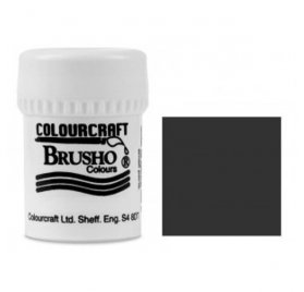 Pigment en poudre 'Colourcraft - Brusho' Black 15g