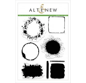 Tampons transparents 'Altenew' Watercolor Frames