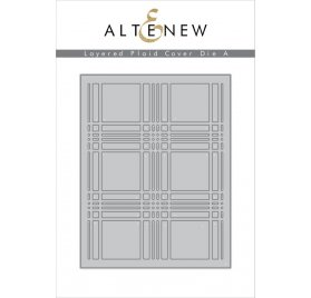 Die / Matrice de découpe 'Altenew' Layered Plaid Cover A