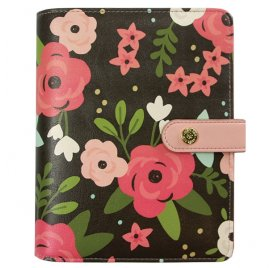 Coffret Organiseur Complet 'Simple Stories - Personal Planner' Black Blossom