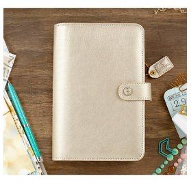 Organiseur Complet A5 Personal Planner 'Webster's Pages - Color Crush' Champagne