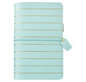 Carnet de voyage 'Webster's Pages - Color Brush' Travelers Notebook Blue Gold
