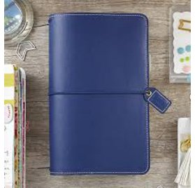 Carnet de voyage 'Webster's Pages - Color Brush' Travelers Notebook Navy