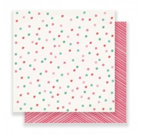Papier double 30x30 'Crate Paper - Falala' Very Merry