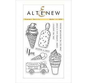 Tampons transparents 'Altenew' Summer Swirls Qté 10