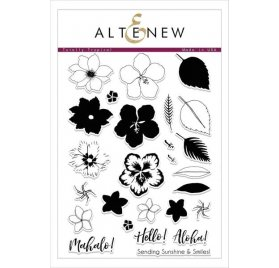 Tampons transparents 'Altenew' Totally Tropical Qté 25