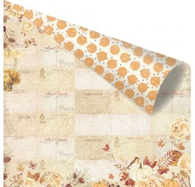 Papier double 30x30 'Prima - Amber Moon' Fall Postcards From Paris