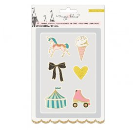 Assortiment de Pin's 'Crate Paper - Carousel' Qté 6