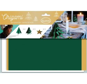 Kit Déco Origami 'Aladine' Table de Noël