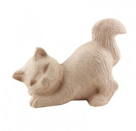 Chat songeur - Decopatch - 15 cm