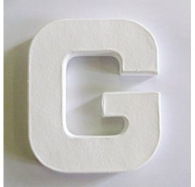 Mini lettre G - Decopatch
