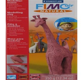 Fimo Air Natural - 350 g - Terre rouge