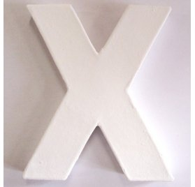Mini lettre X - Decopatch