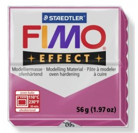 Pâte Fimo - Effect -  56g - Rose Ruby